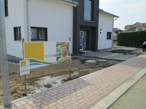 Wilczek-Vorgarten-Anfang