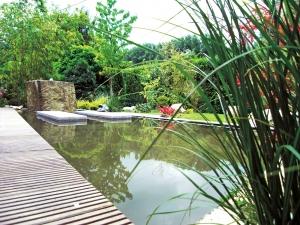 Wasserbecken Formaler Garten