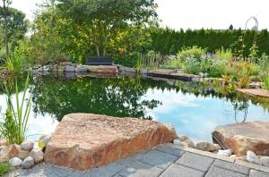 Blumengarten am Schwimmteich