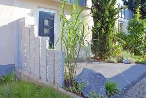 Granitvorgartenabtrennung