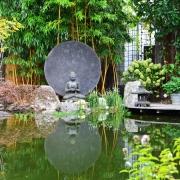 Teichbecken Buddha