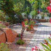 Mediterranes Flair mit Oleander