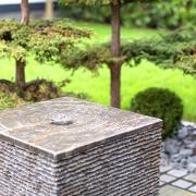 Kubus als Brunnen